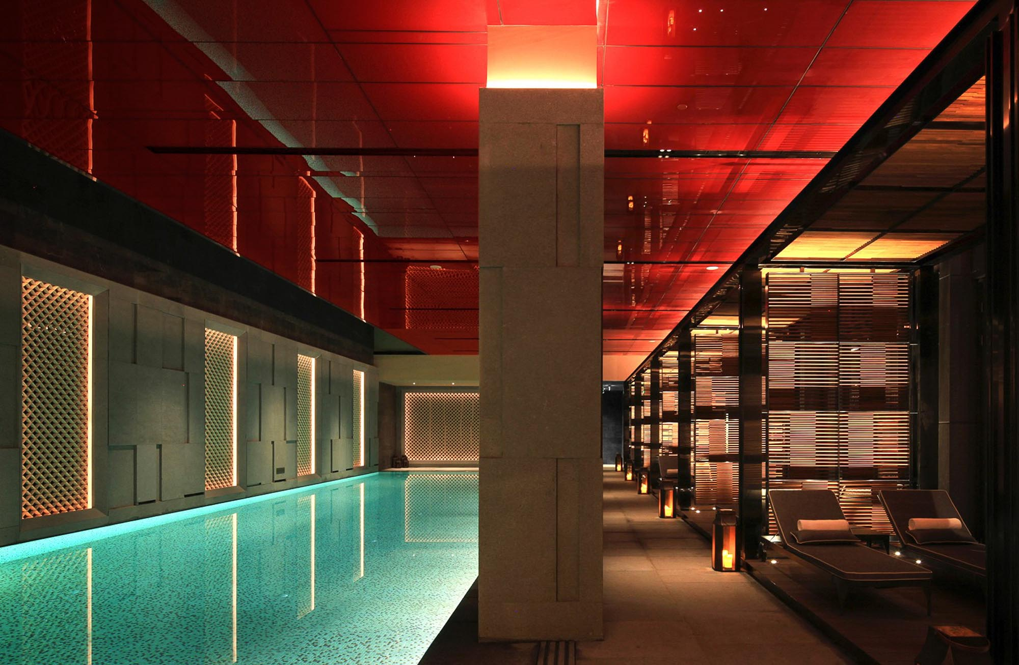 Indoor pool Grand Hyatt Changsha
