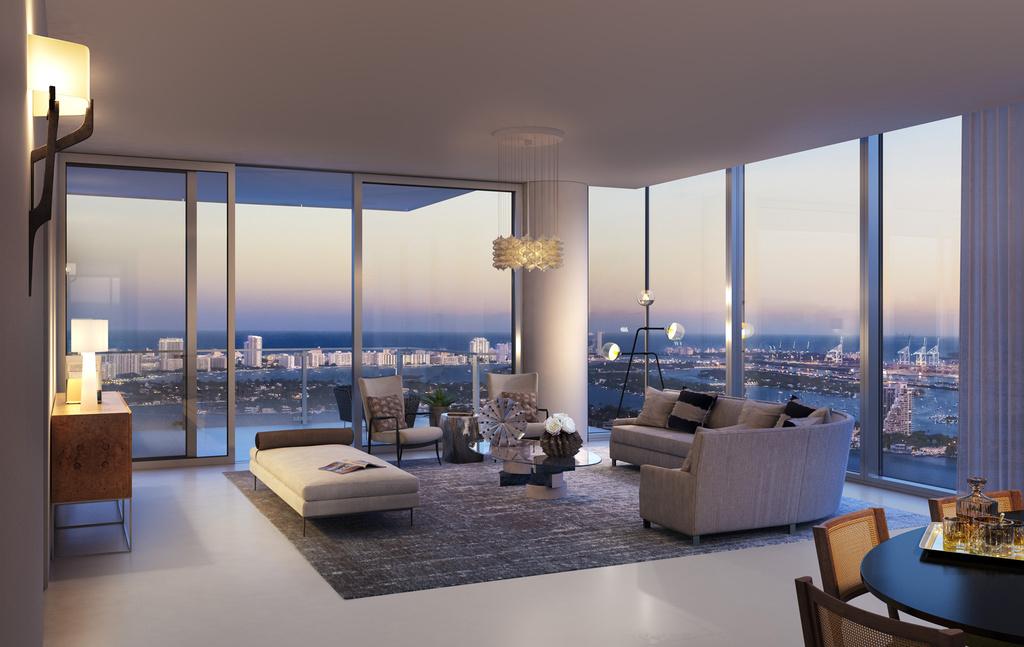 View of the living Room | Missoni Baia