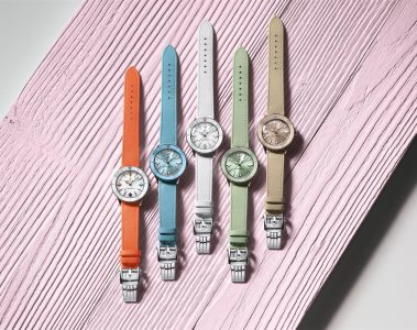 The Breitling Superocean Heritage '57 Pastel Paradise Capsule Collection